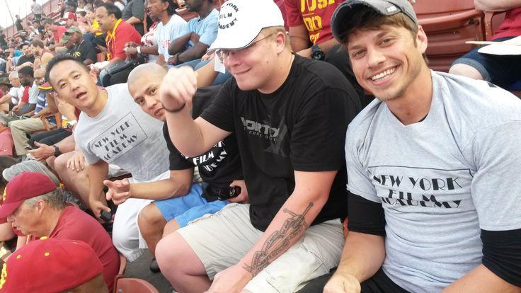 NYFA Veteran Students Attend USC Football Game