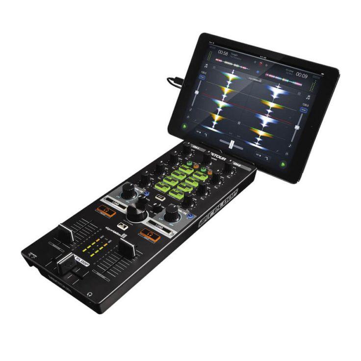 MIXTOUR es un controlador de 2 canales con un tamaño compacto que, gracias al concepto All-In-One, ofrece todo lo que se necesita para montar una fiesta.