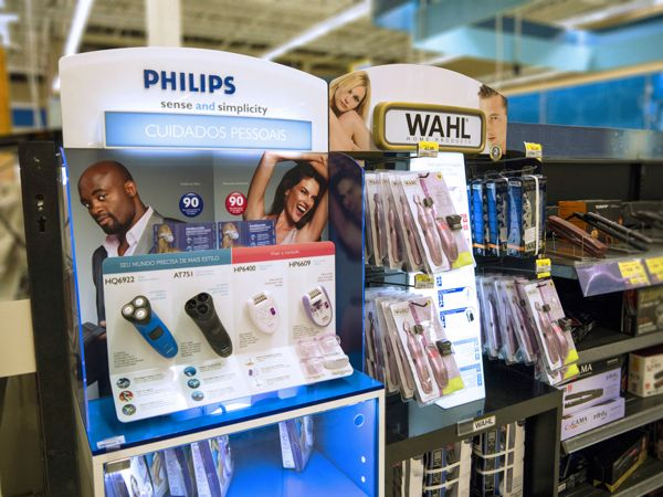 WALMART PERSONAL CARE by EXHIMIA Instore Solutions, via Behance