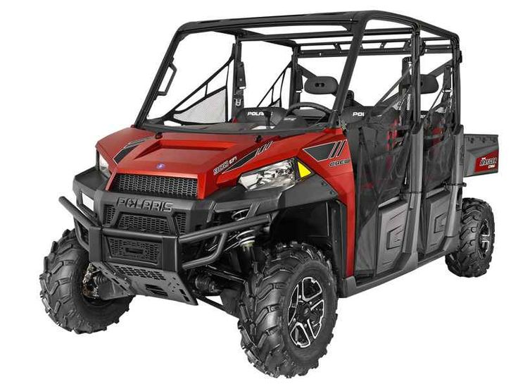New 2014 Polaris Ranger Crew 900 EPS Sunset Red LE ATVs For Sale in Alabama. 2014 Polaris Ranger Crew 900 EPS Sunset Red LE, CALL 256-650-1177 TO SAVE $$$$ 2014 Polaris® Ranger XP® 900 Sunset Red LE Hardest Working Features ALL-NEW, 60 HP PROSTAR® 900 ENGINE The all-new Polaris ProStar 900 engine features 60 HP, pumping out incredible, class-leading torque and pulling power. Electronic Power Steering (EPS) The smoothest, most responsive electronic power steering available, with Variable…