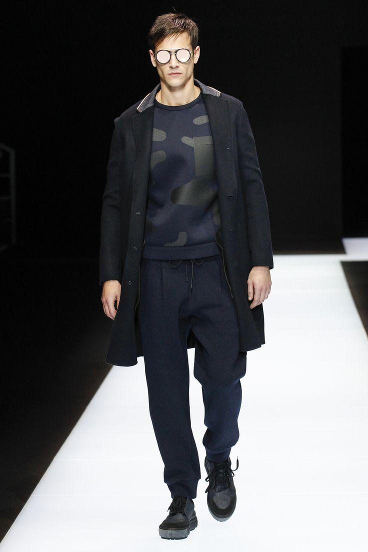 Emporio Armani Fall 2016 Menswear Fashion Show