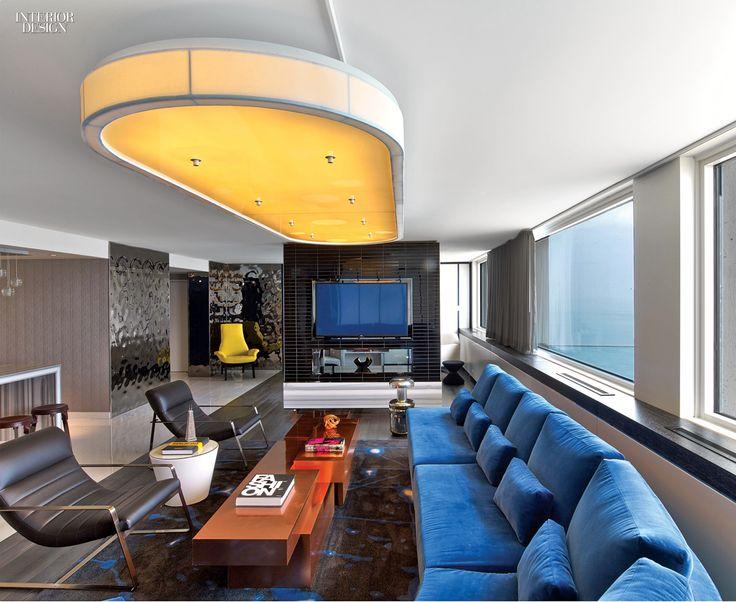 Project W Chicago Lakeshore Firm Meyer Davis Interior Design