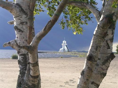 Nallikari, Oulu, Watchtower - by Kimmo Lahti