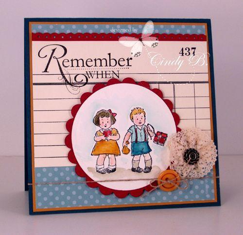 Stampin' Up! Greeting Card Kids