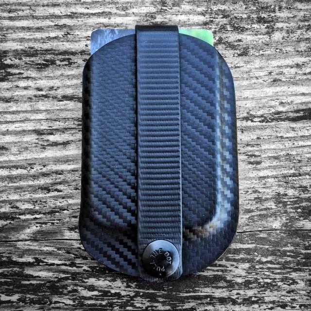 Vita EDC Wallet - Black Carbon - Armatus Carry Solutions