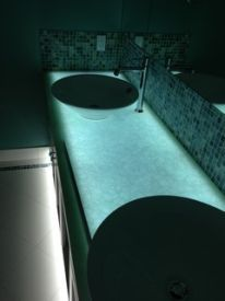 Frosted Glass Countertops   Google Search