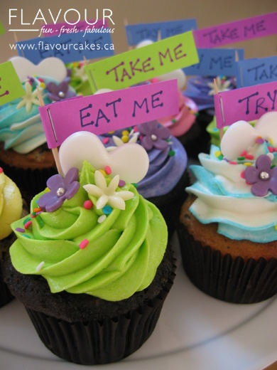 Mad Hatter Cupcakes - Dani's 12th