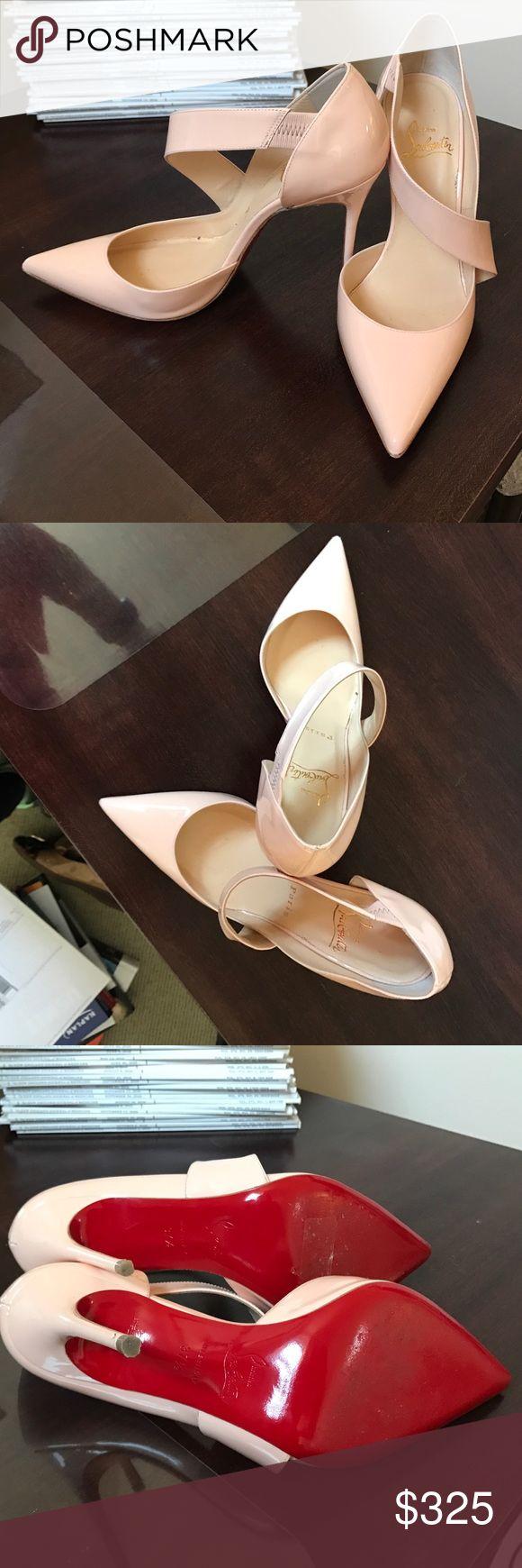 Christian Louboutin pumps Christian Louboutin pumps in light pink. Lightly worn. Christian Louboutin Shoes Heels