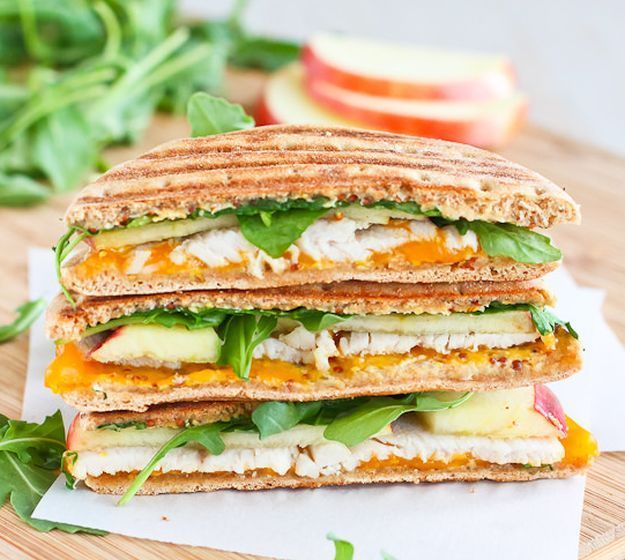 Turkey Panini Recipe with Apple, Cheddar & Arugula | 15 Quick And ...