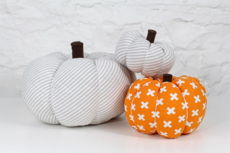 Make a fun fabric pumpkin this Autumn. We have 3 different sizes for you to choose from a small, medium and large pumpkin, and we will share tips on how to m...