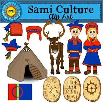 Sami Culture Clip Art - by Deeder Do
