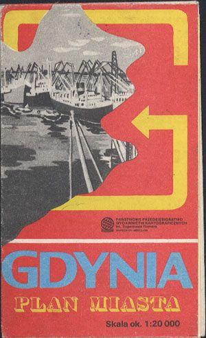 Gdynia. Plan miasta 1:20 000, PPWK, 1987, http://www.antykwariat.nepo.pl/gdynia-plan-miasta-120-000-p-13485.html