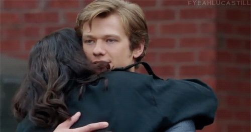 "Lucas Till as Angus MacGyver  All gifs from MacGyver 1x19 ""Compass"""