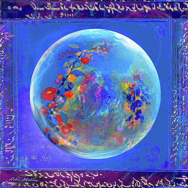Sea Of Hanami By Robin Moline Globe Art Art Moline