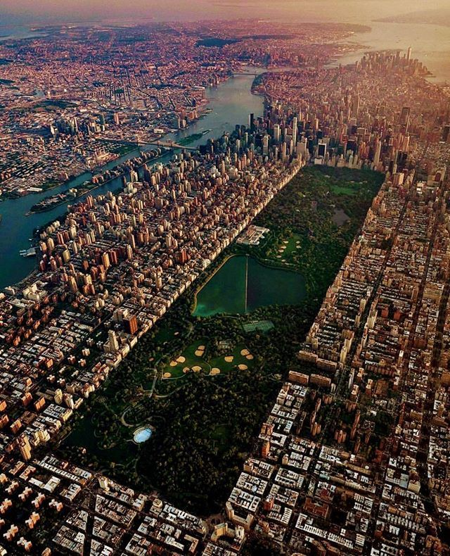 New York Central Park From Overhead New York Wallpaper City From Above New York Travel