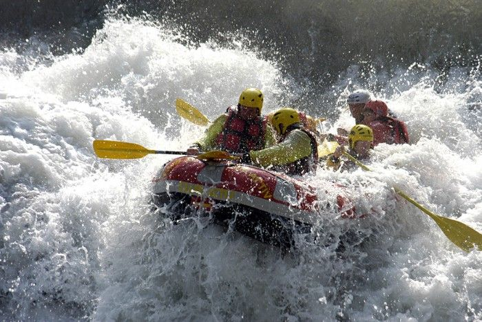 All That You Need to Know About Rafting in Rishikesh Because it is Bad Manners to Keep a Vacation Waiting | 365hops  >>>> The river rafting in Rishikesh is open all year round except for the monsoon season that is June to September when the water flow is above danger level for rafting. The best time however is from February to May and October and November.  #Rafting #Rishikesh, #RishikeshRiverRafting, #BungeeJumping, #Camping, #FlyingFox, #RockClimbing, #Travel, #Trekking