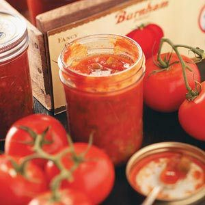 Spicy Chunky Salsa---yum, I'm making this soon! Wish it could be from my own toms but maybe in another life.