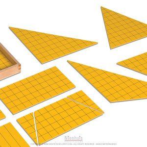 Calcul des périmètres et des aires Montessori