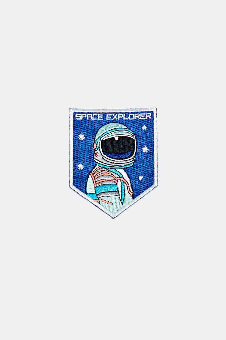 Écusson à repasser explorateur de l'espace Mokuyobi Threads