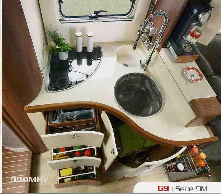 les 7 meilleures images du tableau camping car accessoires cuisine sur pinterest accessoires. Black Bedroom Furniture Sets. Home Design Ideas