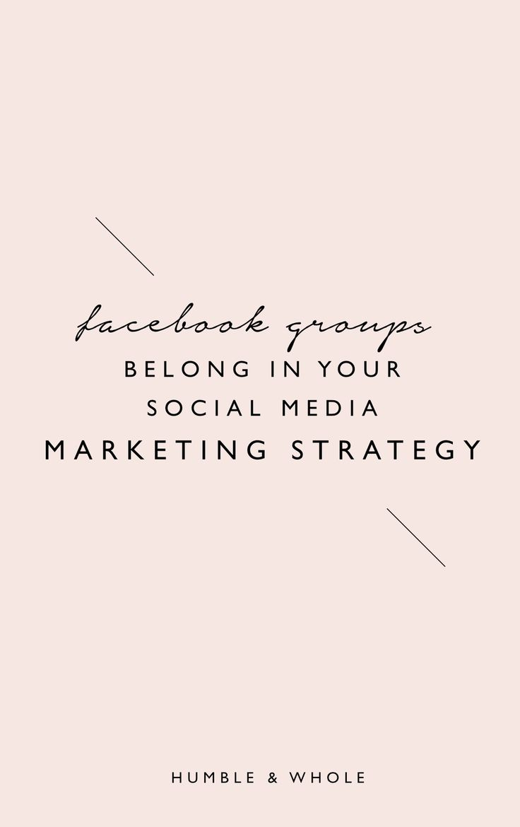 Why You Should Be Using Facebook Groups Like, Yesterday