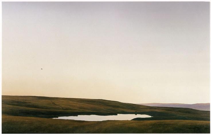 Stock Pond with Harrier, 1995, Grahame Sydney