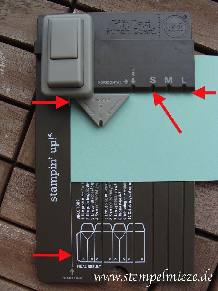 Ich möchte euch heute eine Anleitung für das neue Gift Bag Punch Board / Stanz- und Falzbrett für Geschenktütenvon Stampin' Up! geben. Solltet ihr anschließend noch Fragen haben, dürft ihr e…