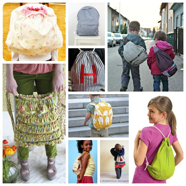 Back To School Sewing Round-Up: 9 Backpacks toSew - A Sewing Journal - A Sewing Journal