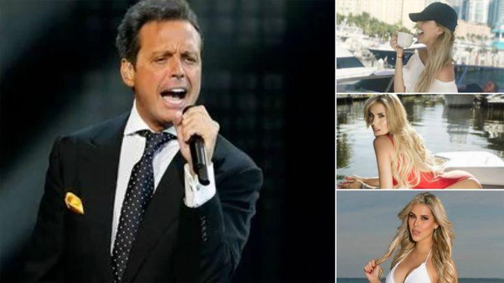 ¿La nueva novia de Luis Miguel? El cantante fue fotografiado a los besos con una periodista venezolana