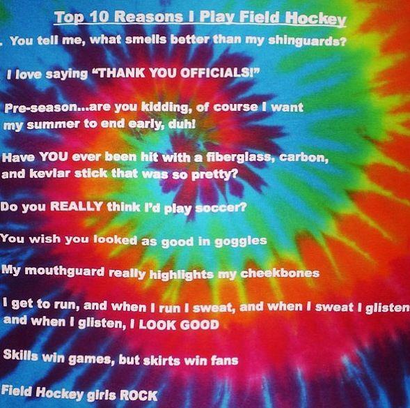 Field hockey probs