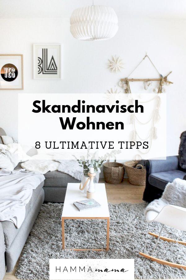 Skandinavischer Wohnstil und andere Dinge, die während der Ferien in unser Leben gezogen sind