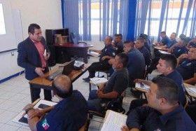 Imparten curso de cadena de custodia a elementos de seguridad publica