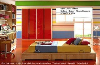 Modern Genç Odası Mobilyaları