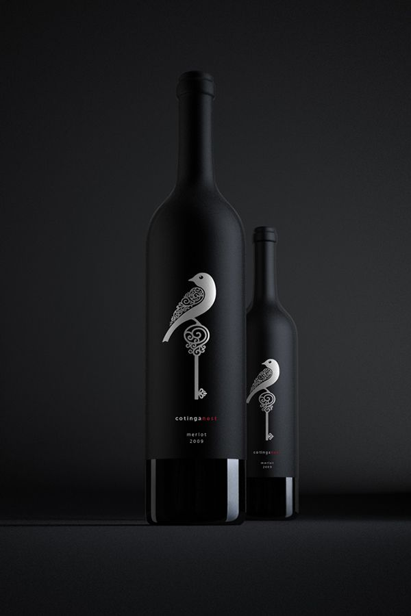 Cotinga Nest Wine on Behance #taninotanino