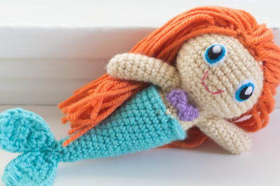Custom Made Mermaid Doll  -by The Faded Wildflower