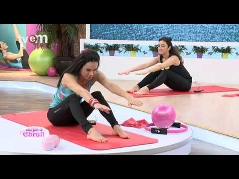 Ebru Şallı İle Pilates Egzersizleri 3.Bölüm - YouTube