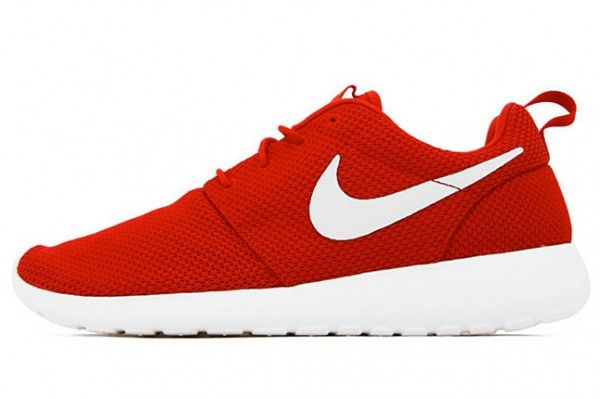 Nike Roshe Run Red And White