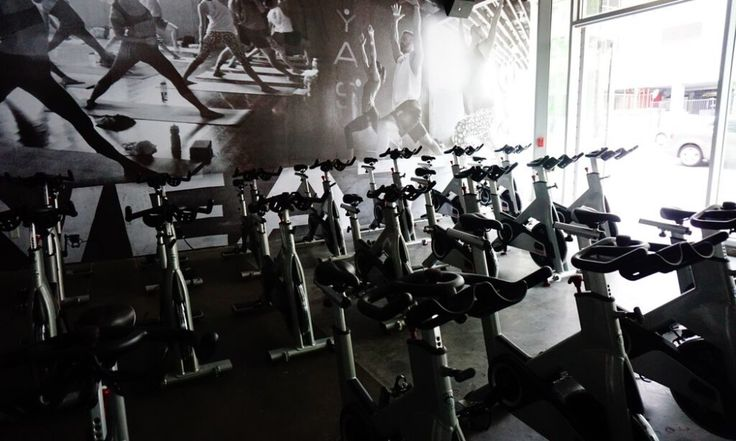 Need a new, fun way to burn calories? YAS Fitness & The Sweat Shoppe take a new tole on spinning! via InstyleBuzz