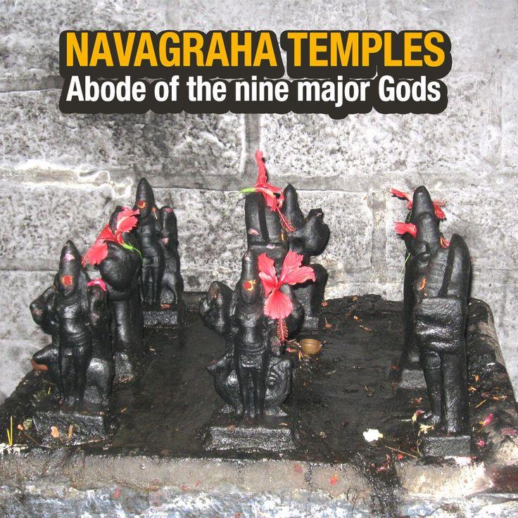 #NavagrahaTemples - Abode of the nine major Gods - http://bit.ly/2r58Gbc #Artha #Hinduism #Astrology #Graha