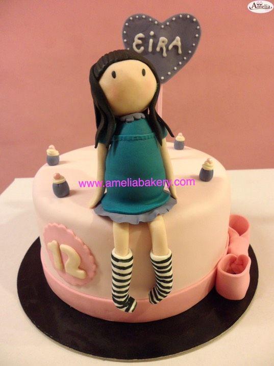 Cake Art By Suzanne : 224 fantastiche immagini su Gorjuss Cake su Pinterest ...