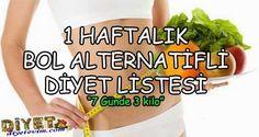 alternatif diyet listesi