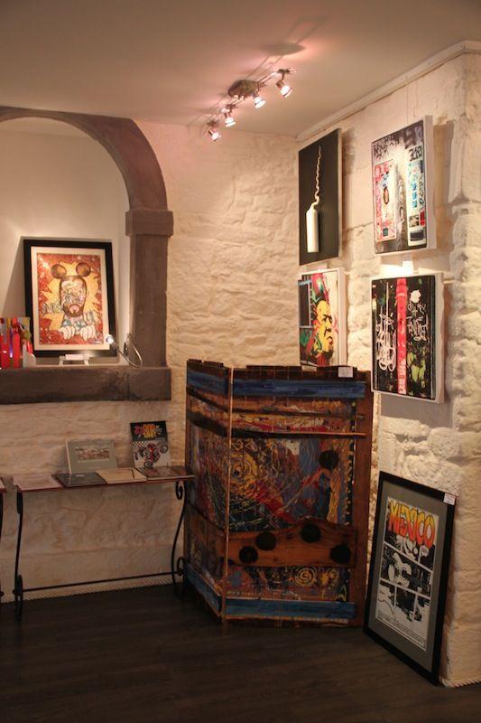 """Petite interview de Tébéo suite à leur visite à """"Angle3"""" galerie d'Art contemporain à Quimper, ou 13 artistes y présentent leurs création autour du Thème """" Bd & Graffes"""""""