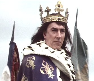 The Black Adder (1983 TV) Peter Cook as Richard III