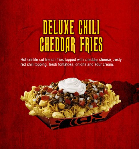 Made--yummmm--del taco | Del Taco Deluxe Chili Cheese Fries and Secret Menus