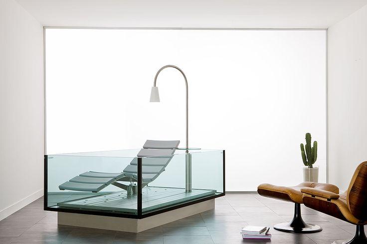 Hoesch Badewanne Whirlwanne Water Lounge by Noa Design
