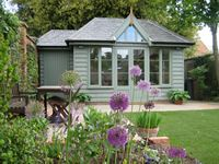 Summer Houses and Garden Rooms Is this Ronseal Sage Matt Garden Paint?