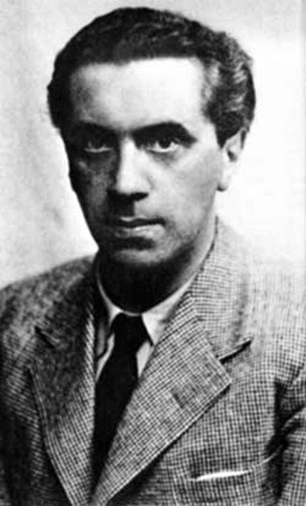 Ernst Toller, 1893 - 1939. (Ger.) playwright.
