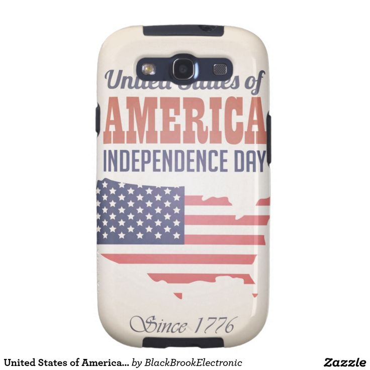 United States of America Independence Day Galaxy SIII Cover