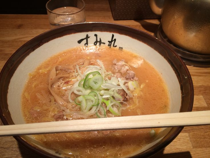 札幌すみれ味噌ラーメン