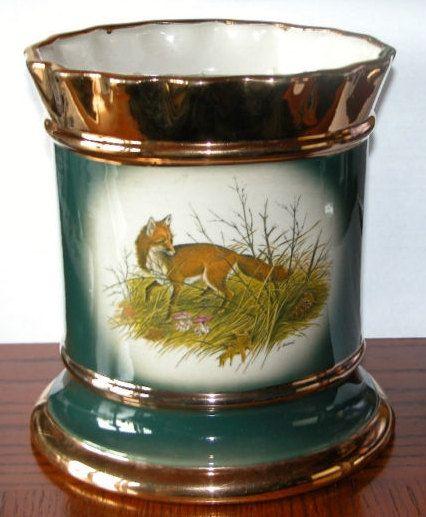 vintage fox wine bucket foxhunting wine bucket by RelativelyStable, $55.00